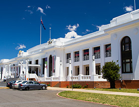 canberra old parliament house