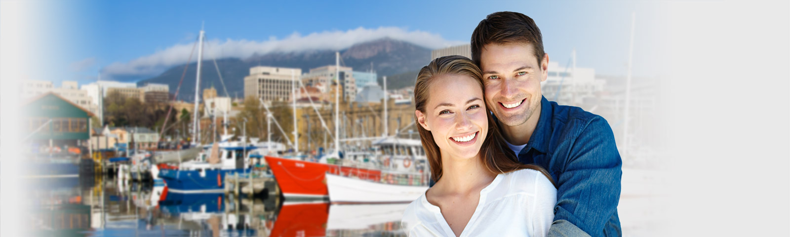 happy couple discovering hobart dating scene