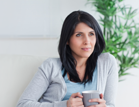 woman discovering how to trust again